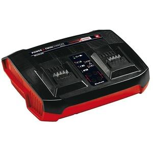 Einhell Power X-Change Ladegerät Power-X-Twincharger 3 A  (Passend für: Einhell Power X-Change Akkus)