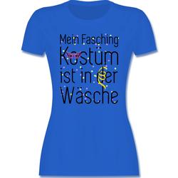 Shirtracer T-Shirt Mein Fasching Kostüm ist in der Wäsche - Karneval & Fasching - Damen Premium T-Shirt - T-Shirts faschings t-shirt damen XXL
