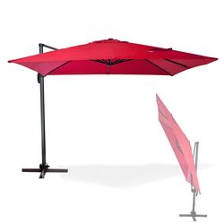 Sonnenschirm Ampelschirm Gartenschirm Marktschirm Kurbelschirm Schirm Verona 3x3m