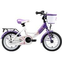 Bikestar Classic 12 Zoll RH 23 cm candy lila/diamant weiß