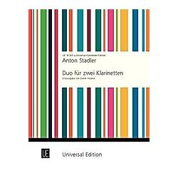Duo. Anton Stadler  - Buch