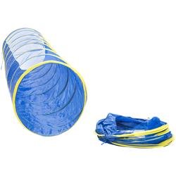 Kriechtunnel aus Nylon, Blau, 1,8 m, Nylon
