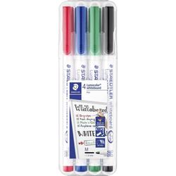 STAEDTLER Kreidemarker STAEDTLER Whiteboard Stift Lumocolor 301 4er-Set