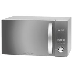 ProfiCook Mikrowelle PC-MWG 1176 H, Grill und Heißluft, Microwelle Microwave 23L 2300 W grau