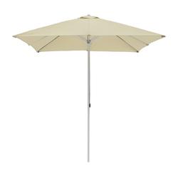 Alu-Sonnenschirm quadratisch ohne Schirmständer