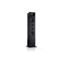 Auna Karaboom 100 Wifi Turmlautsprecher Internetradio DAB+ BT 120W schwarz Lautsprecher schwarz