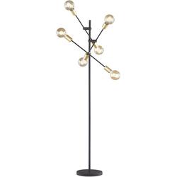 TRIO Leuchten Stehlampe CROSS, schwenkbar
