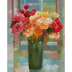 Home affaire Kunstdruck KHORASANI / Prächtige Blüten