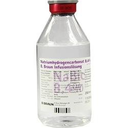 Natriumhydrogencarbonat 8.4% B. Braun Glas