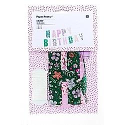 Girlande Hygge, Happy Birthday