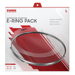 Evans E-Ring-Set Rock 10-12-14-16 Dämpfringe