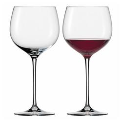 Eisch Rotweinglas Burgunderglas 2er Set Jeunesse 420 ml, Kristallglas beige