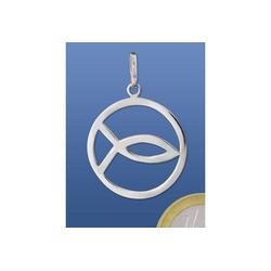 Adelia´s Kettenanhänger Anhänger Fisch 925 Silber