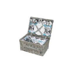 Cilio Picknickkorb Picknickkorb für 2 Personen STRESA, Picknickkorb
