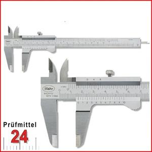 Mahr Taschen Messschieber 150 mm MarCal 16FN, Ablesung: 0,05 mm mit Feststellschraube 4100400 Aktionspreis gültig bis 28.02.2020 (BH4)