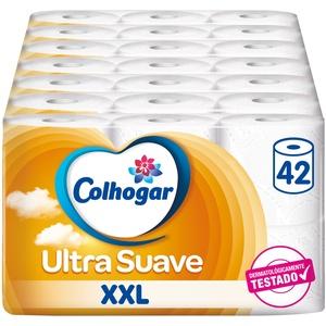 Colcasa Toilettenpapier, 42 Rollen