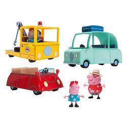 Peppa Pig - 3-tgl. Spielautoset
