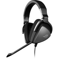 Asus ROG Delta Core Gaming Headset (Hochauflösender Sound, Kompatibel mit PC, PS4, Xbox One und Nintendo Switch) grau