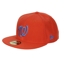 Cap NEW ERA - Seas Cont Wasnat Red/Blu (13B108) Größe: 6 7/8