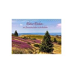 Rhöner Röschen - ein Sommermärchen in der Hochrhön (Tischkalender 2021 DIN A5 quer)