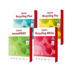 memo Recycling-Kopierpapier-Paket