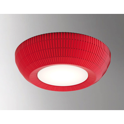 Designer-Deckenleuchte Bell ø 60 cm Axo Light - Rot