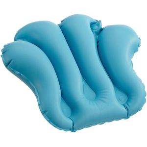 Dr. Winkler 433 Großes Badewannenkissen aufblasbar mit 4 Saugnäpfen, blau