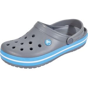 Crocs Crocband Clogs grau/blau EU 39-40 2021 Freizeit Sandalen