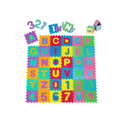 tectake Puzzlematte Puzzlematte 86-tlg., Puzzleteile
