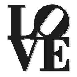 Wanddeko LOVE