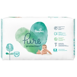 Pampers Pure Protection 2-5 kg 35 Stück