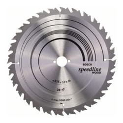 Bosch Kreissägeblatt Speedline Wood 315 x 30 x 3,2 mm 28