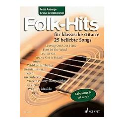 Folk-Hits für klassische Gitarre - Buch