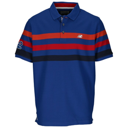 Ragman Poloshirt Blau, Gr. L - Herren Poloshirt