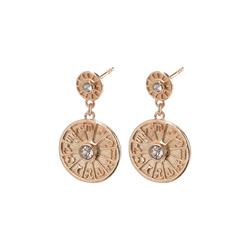 Pilgrim Damen Ohrringe 'Fia' gold, Größe One Size, 4861945