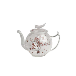 TeaLogic Teekanne Teekanne Glas Cherry Blossom 1,2l, 1.2 l