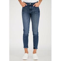 ONE MORE STORY 7/8-Jeans mit ausgefranstem Saum mit ausgefranstem Saum 36