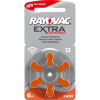 Rayovac Hörgerätebatterien Extra Advanced Typ 13/PR48/1.45V/4606 Zink-Luft orange 60 St.