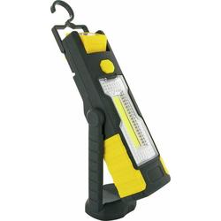 Schwaiger LED Arbeitsleuchte Schwaiger VDWLED5 LED Arbeitslampe Working Light Leuchte COB Neigbar Schwarz/gelb