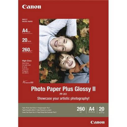 Photoglanzpapier Plus Glossy II PP-201 A4 VE=20 Blatt