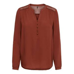 ONLY Lockeres Hemd Damen Rot Female XXL
