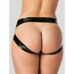 Rubber Girl Spanking-Slip aus Latex