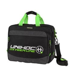 Unihoc Computer bag OXYGEN LINE black / green