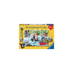 Ravensburger Puzzle 2er Set Puzzle, je 24 Teile, 26x18 cm, Der kleine, Puzzleteile