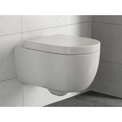 Aqua Bagno Tiefspül-WC Blankenburg WC Set Cocon 2.0 lang mit Softclose