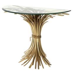 Casa Padrino Luxus Konsole Antik Gold 90 x 45 x H. 76 cm - Designer Konsolentisch