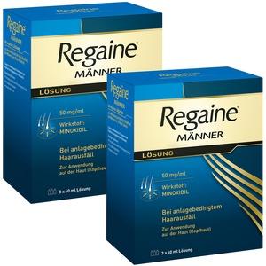 Regaine® Männer Lösung 6 Monats-Packung Sparset 6x60 ml Lösung