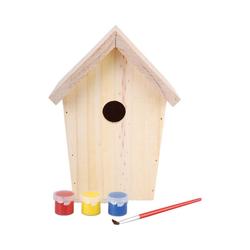 esschert design Vogelhaus Bastler-Nistkasten mit Farbe