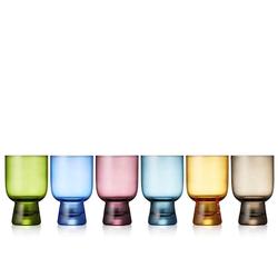 Lyngby Glas Tumbler 7,5 x 12 cm 6 Stk