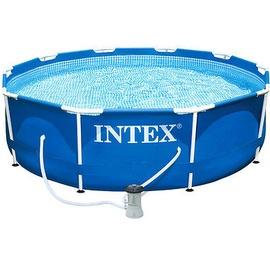 Intex Metall Frame Pool Set 305 x 76 cm inkl. Filterpumpe